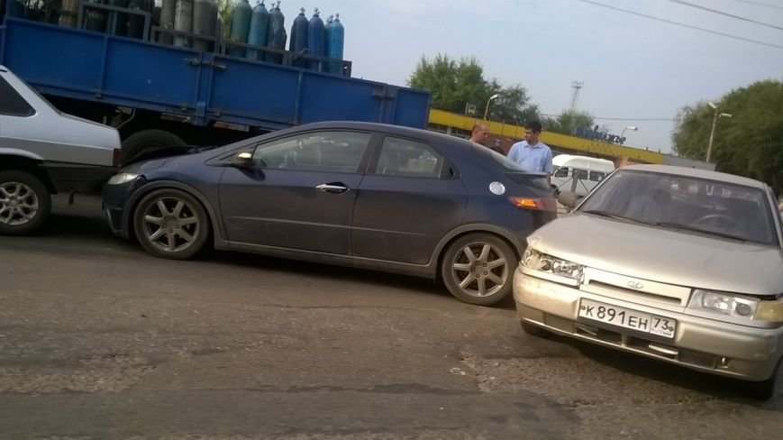 В Заволжье столкнулись пять автомобилей, фото-3