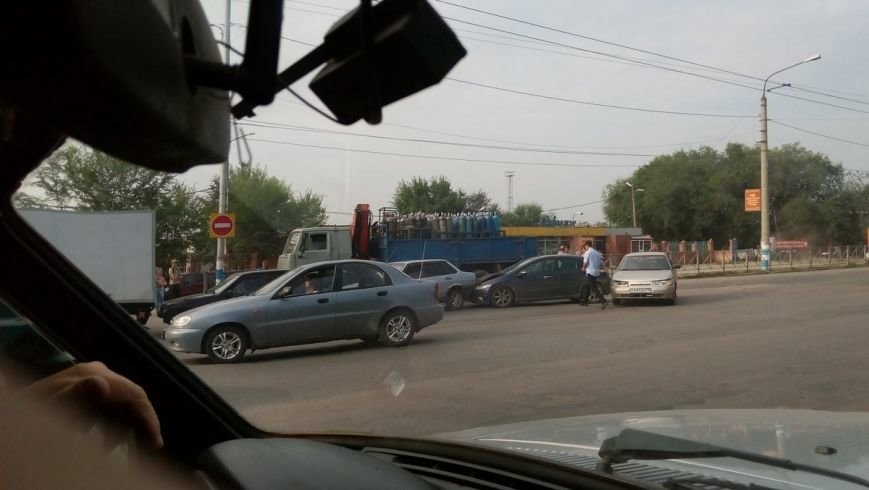 В Заволжье столкнулись пять автомобилей, фото-2