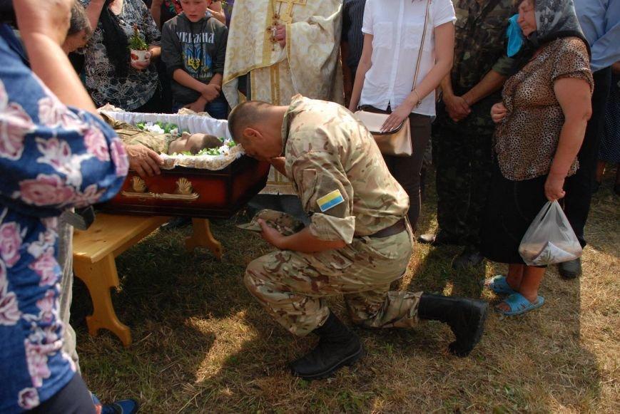 На Снятинщині поховали бійця АТО, який загинув кілька днів тому (ФОТО), фото-2
