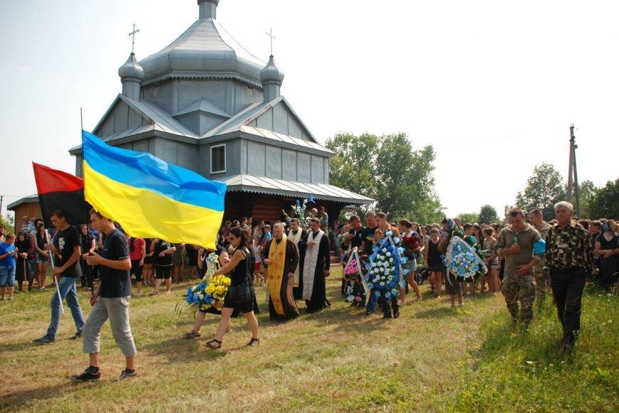 На Снятинщині поховали бійця АТО, який загинув кілька днів тому (ФОТО), фото-5