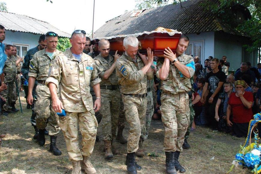 На Снятинщині поховали бійця АТО, який загинув кілька днів тому (ФОТО), фото-4