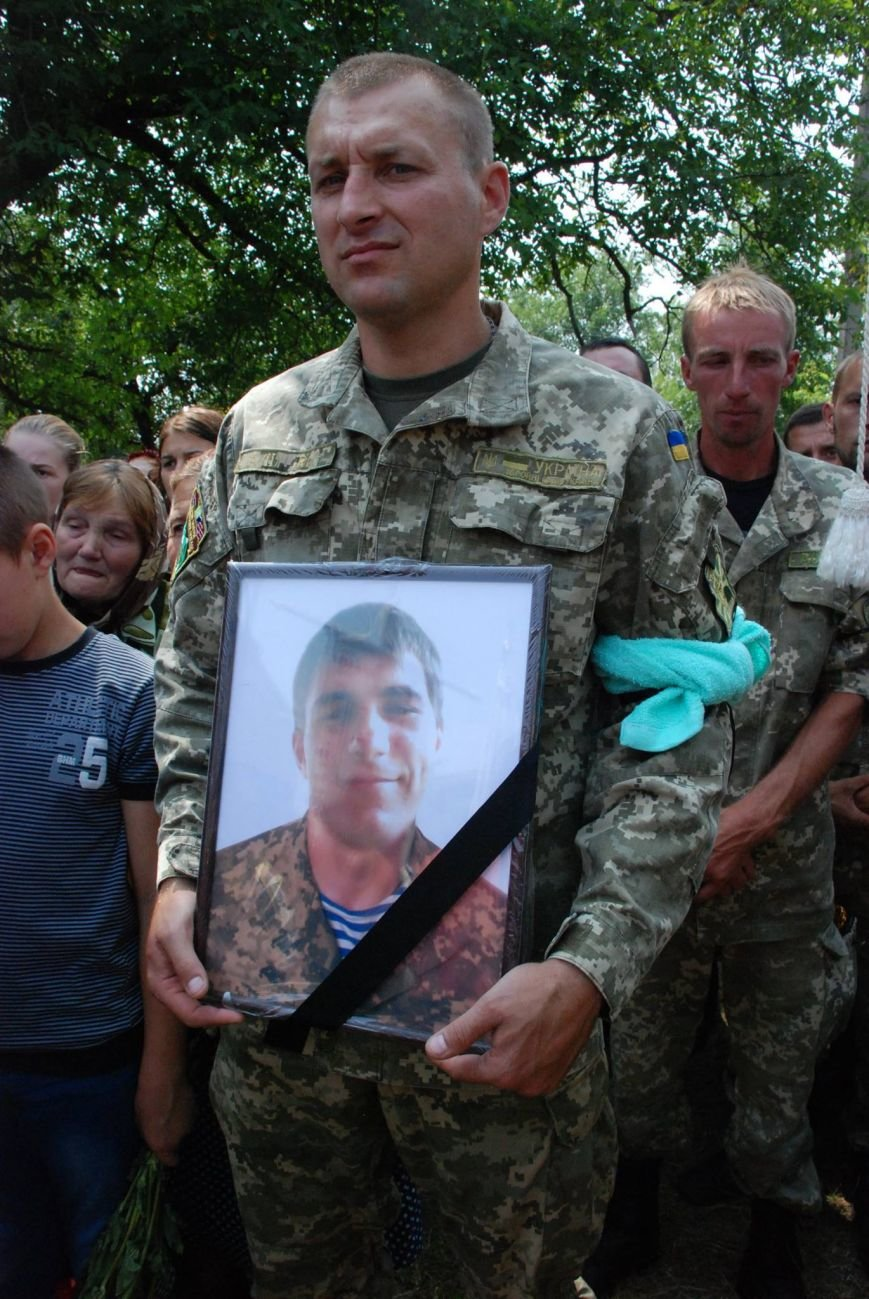 На Снятинщині поховали бійця АТО, який загинув кілька днів тому (ФОТО), фото-3