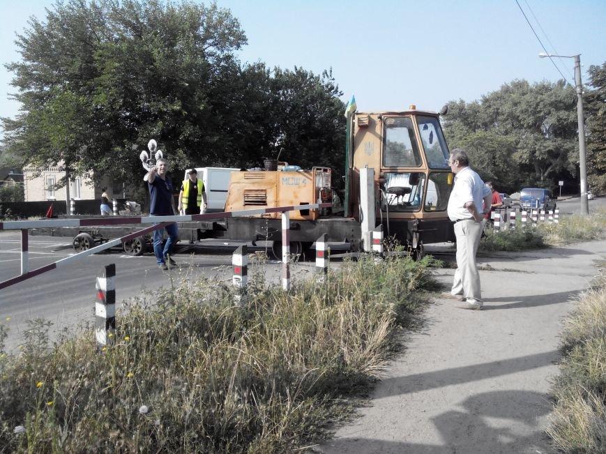 ДТП в Кропивницком: дрезина протаранила легковой автомобиль (ФОТО), фото-1