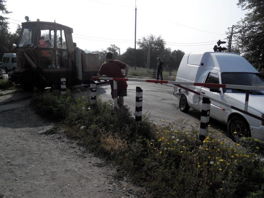 ДТП в Кропивницком: дрезина протаранила легковой автомобиль (ФОТО), фото-3