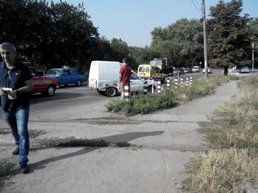 ДТП в Кропивницком: дрезина протаранила легковой автомобиль (ФОТО), фото-5