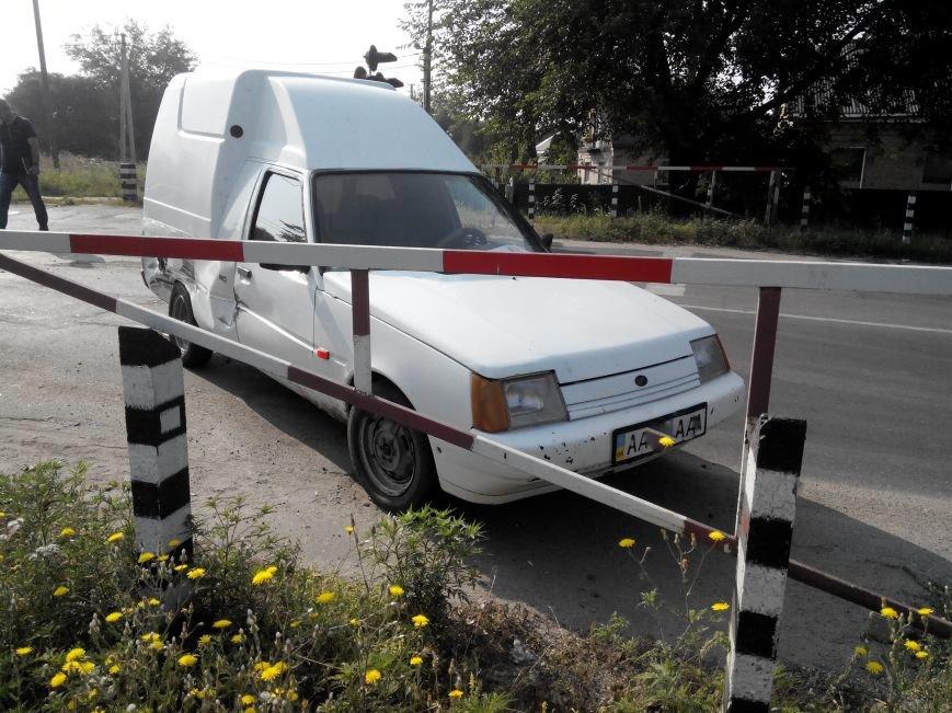 ДТП в Кропивницком: дрезина протаранила легковой автомобиль (ФОТО), фото-4