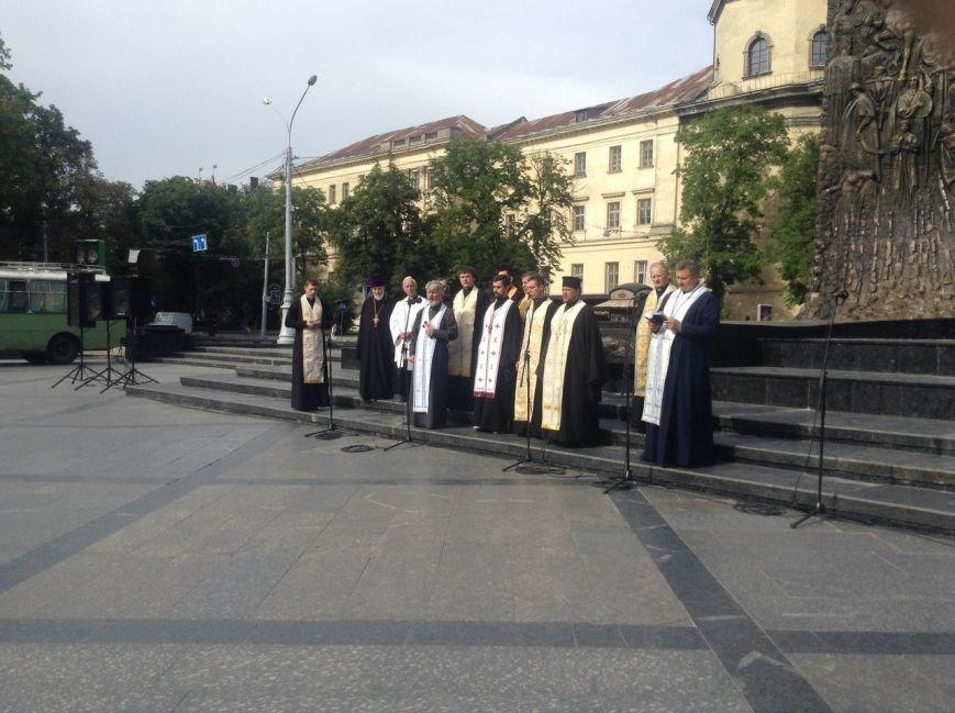Як у Львові відзначили річницю хрещення Київської Русі (ФОТО+ВІДЕО), фото-3