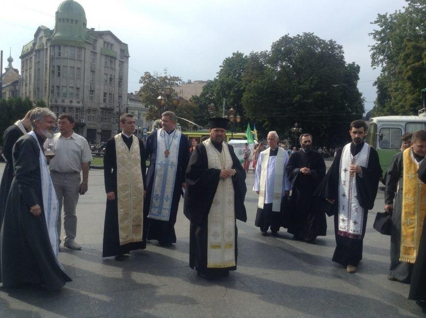 Як у Львові відзначили річницю хрещення Київської Русі (ФОТО+ВІДЕО), фото-2