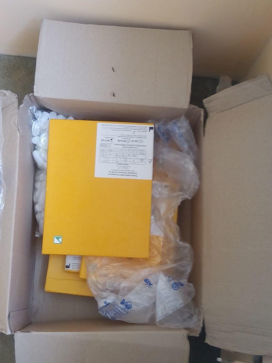 Бахмутская ЦРБ получила гуманитарную помощь, фото-1