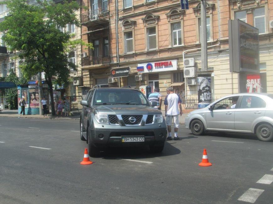 Центр Одессы застыл в пробке из-за аварии на Екатерининской (ФОТО), фото-5