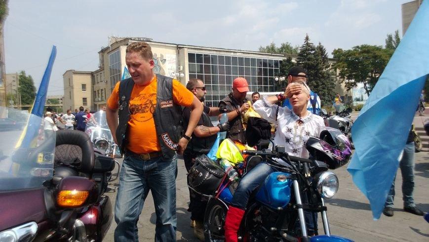Мотопробег байкеров прошел через Мелитополь (фото), фото-2