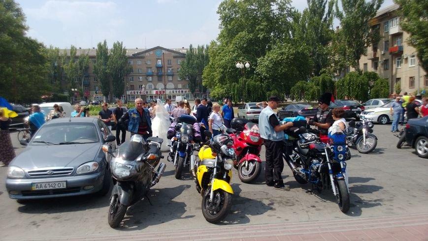 Мотопробег байкеров прошел через Мелитополь (фото), фото-5
