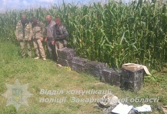 Контрабандисти хотіли переправити через кордон сигарет на 80 тисяч гривень: фото, фото-1