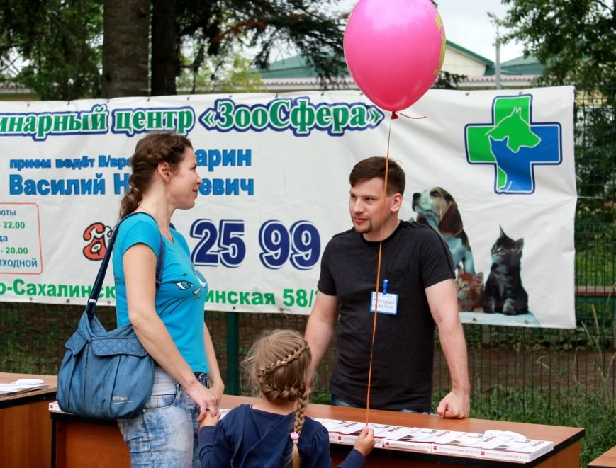 Неравнодушные жители Сахалина приняли участие в волонтерской акции «Помощь животным», фото-3