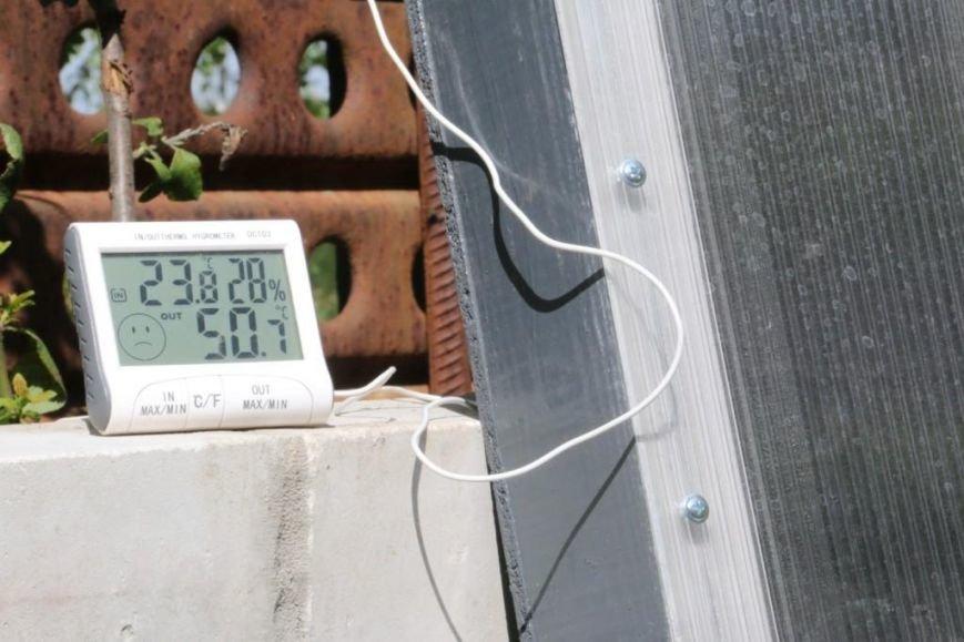 Датчик входящих-исходящих температур