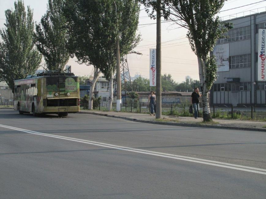 В Запорожье на ходу задымился троллейбус с пассажирами (ФОТОФАКТ), фото-2