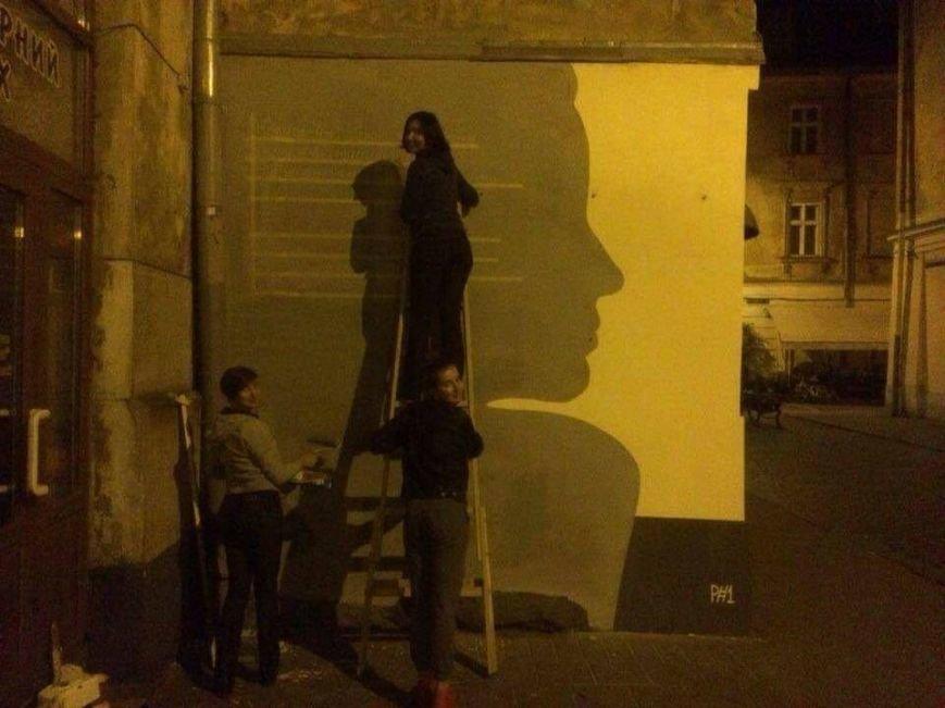 У Львові три сестри розписали одну із стін на вул. Краківській віршем Симоненка (ФОТО), фото-4
