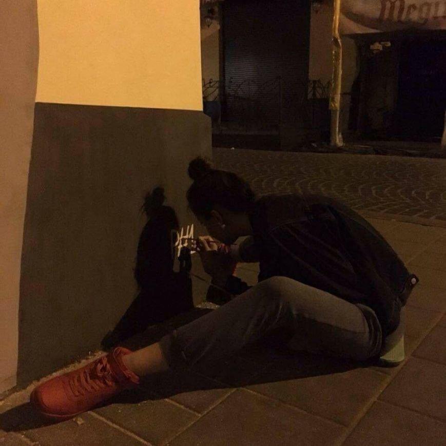 У Львові три сестри розписали одну із стін на вул. Краківській віршем Симоненка (ФОТО), фото-5