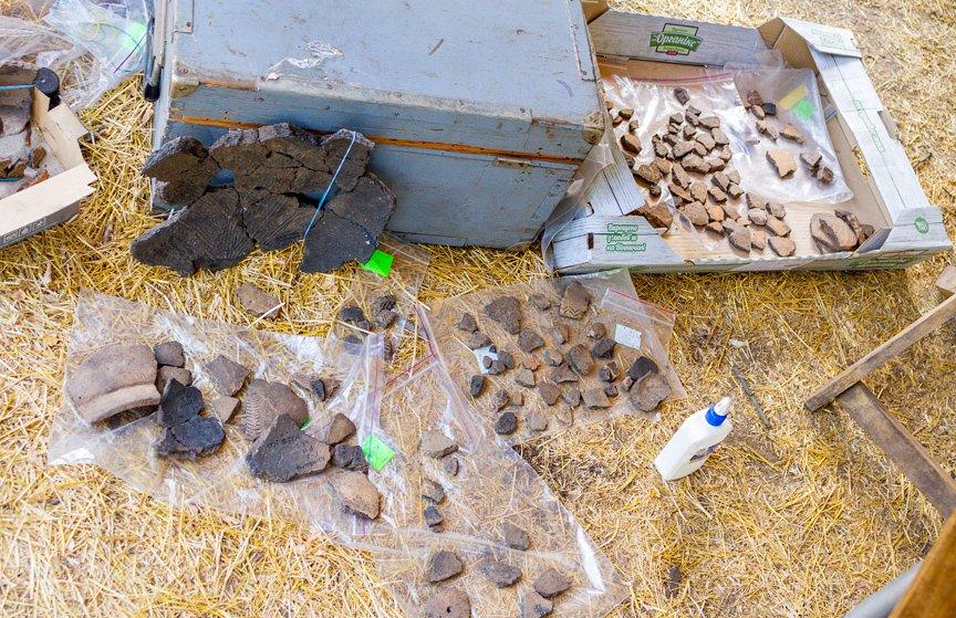 На Хортице проводят раскопки древнего культового комплекса, - ФОТОРЕПОРТАЖ, фото-3