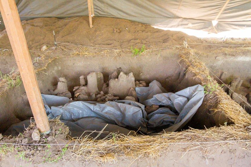 На Хортице проводят раскопки древнего культового комплекса, - ФОТОРЕПОРТАЖ, фото-9
