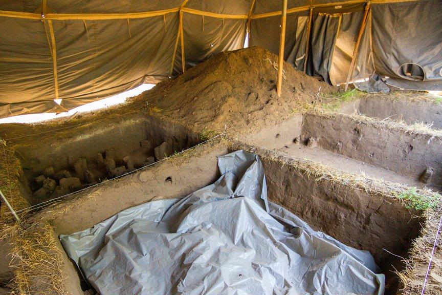 На Хортице проводят раскопки древнего культового комплекса, - ФОТОРЕПОРТАЖ, фото-8