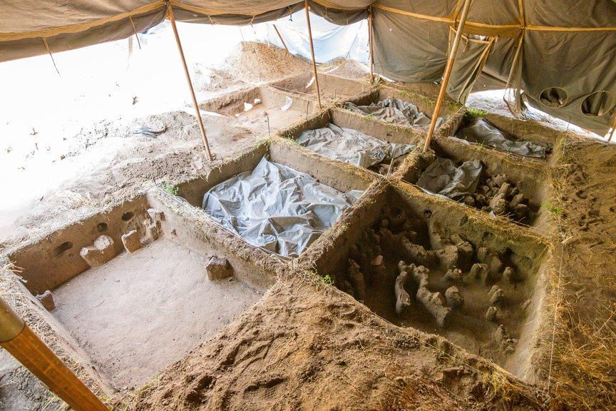 На Хортице проводят раскопки древнего культового комплекса, - ФОТОРЕПОРТАЖ, фото-14