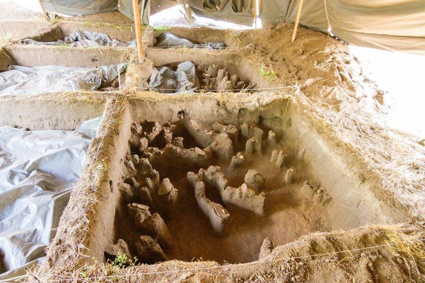 На Хортице проводят раскопки древнего культового комплекса, - ФОТОРЕПОРТАЖ, фото-12
