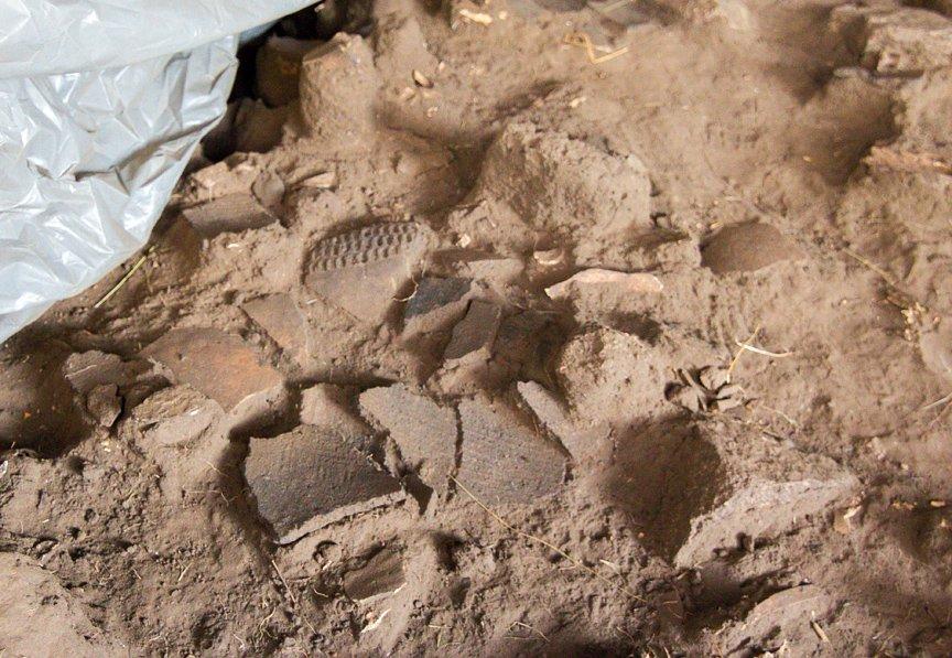 На Хортице проводят раскопки древнего культового комплекса, - ФОТОРЕПОРТАЖ, фото-10