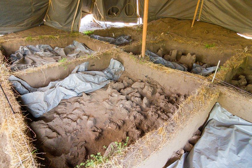 На Хортице проводят раскопки древнего культового комплекса, - ФОТОРЕПОРТАЖ, фото-6