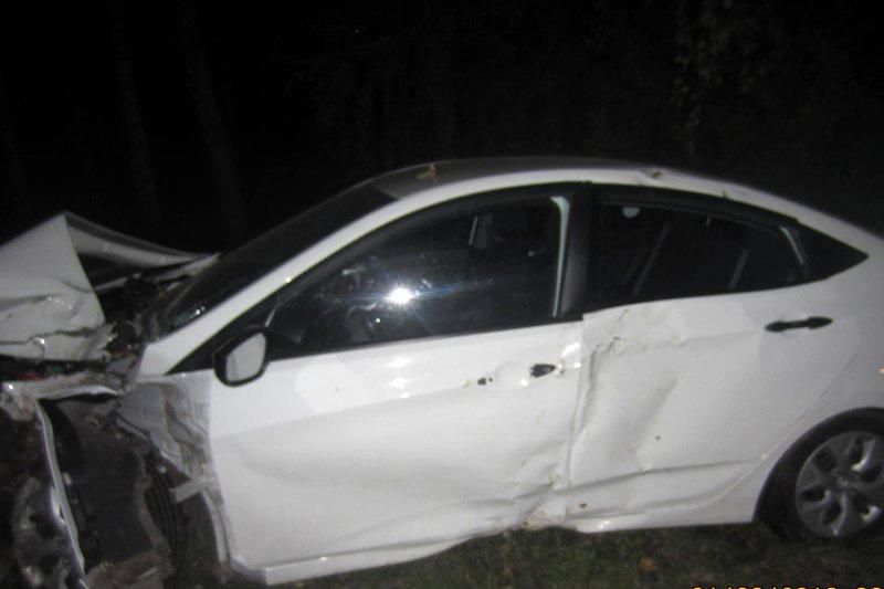 Под Белгородом водитель «Мазды» врезался в стену дома: погиб пассажир, фото-1