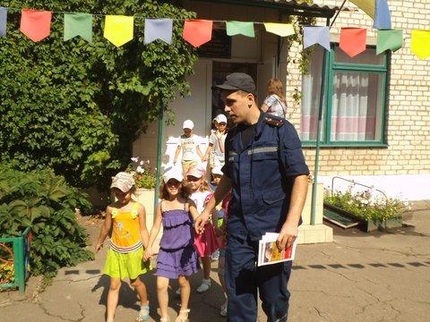 В Краматорске пожарные встретились с детьми, фото-3