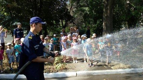 В Краматорске пожарные встретились с детьми, фото-2