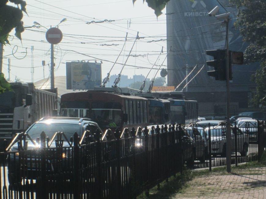 В центре Одессы не курсируют троллейбусы (ФОТО), фото-8