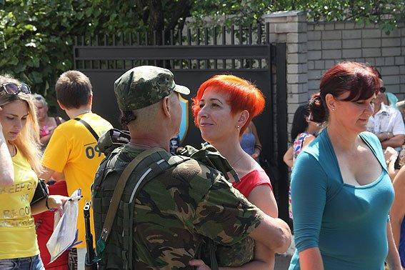 Рота «Чернигов» провела очередную ротацию на Донбассе, фото-12