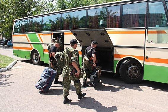 Рота «Чернигов» провела очередную ротацию на Донбассе, фото-8