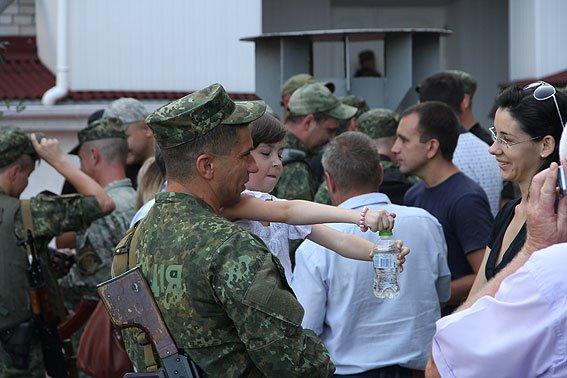 Рота «Чернигов» провела очередную ротацию на Донбассе, фото-14