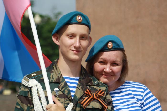День ВДВ отметили в Южно-Сахалинске, фото-4