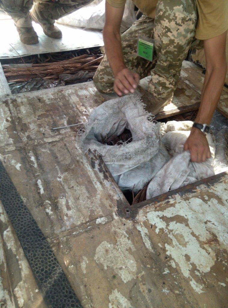 Мужчина пытался провезти в Бахмут полтонны цветных металлов и приклад к винтовке, фото-2