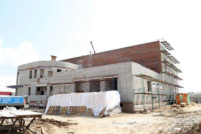 В Белгородском районе строится плавательный бассейн, фото-1