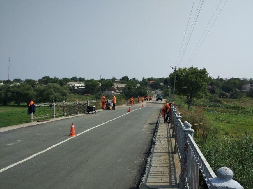 В Новгородке завершили ремонтные работы моста на а/д Новгородка - Ингуло-Каменка (ФОТО), фото-2