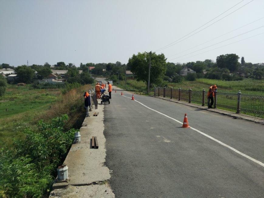 В Новгородке завершили ремонтные работы моста на а/д Новгородка - Ингуло-Каменка (ФОТО), фото-1