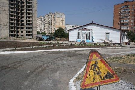 """На """"Восточном"""" укатывают в асфальт дорогу к амбулатории (ФОТО), фото-5"""