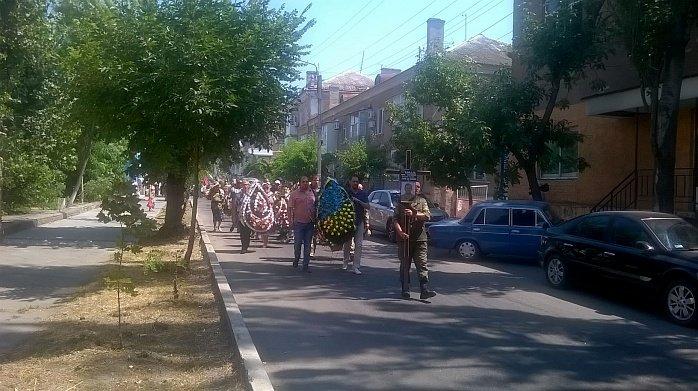 Сегодня Бердянск простился с Юрием Ковалем, фото-5