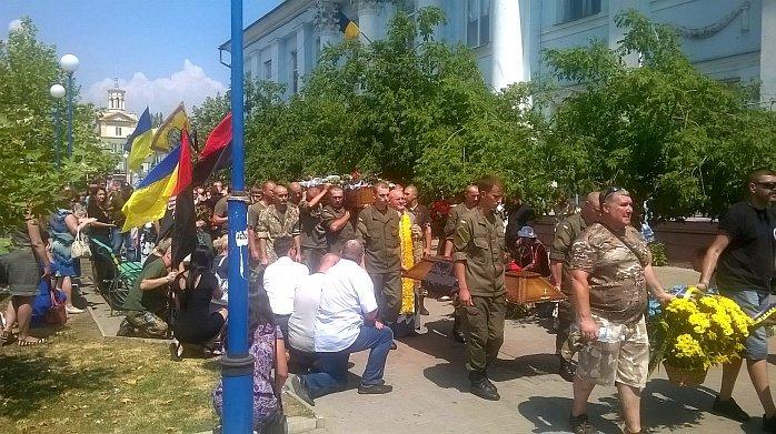 Сегодня Бердянск простился с Юрием Ковалем, фото-4