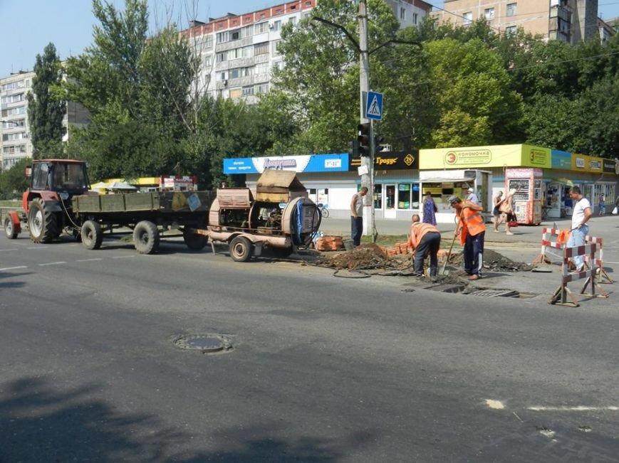 В Николаеве начались работы по переносу ливневки на пересечении Нагорной и Космонавтов(ФОТО), фото-2