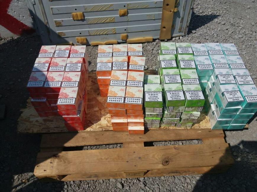 Дончанин пытался провезти в Мариуполь 125 блоков сигарет (ФОТО, ВИДЕО), фото-4