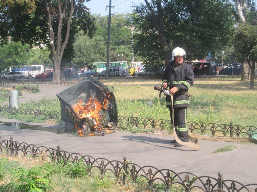 Недобросовестные люди заставили одесских пожарных попотеть (ФОТО), фото-1