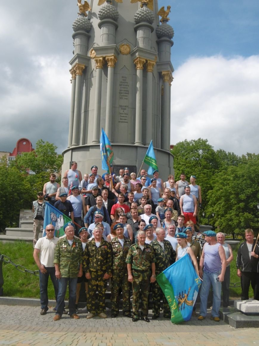 Фотофакт. Ветераны-десантники совершили автопробег по памятным местам Полоцка и Новополоцка, фото-4