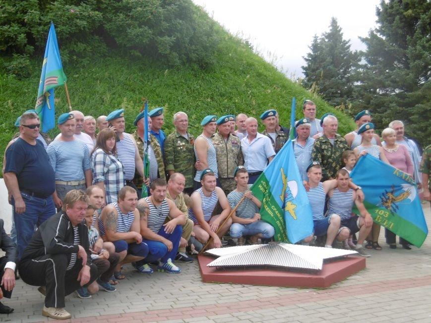 Фотофакт. Ветераны-десантники совершили автопробег по памятным местам Полоцка и Новополоцка, фото-3