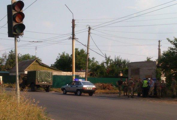 В Краматорске произошло ДТП с участием военных, фото-2